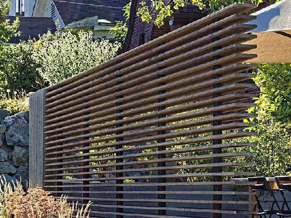 Horizontal Fences Denver Slat Fence Ozark Llc